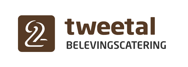Logo Tweetal Belevingscatering - Grey text